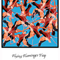 Flying Flamingos by Lois Boyce