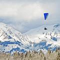 Flying High In Kandersteg, Switzerland by Die Farbenfluesterin