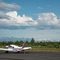 Flying In Alaska by Paul Quinn