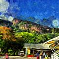 Flying Into Paradise by Ashish Agarwal