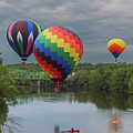 Flying Over The Androscoggin by Jesse MacDonald
