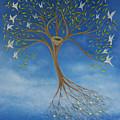 Flying Tree by Tone Aanderaa