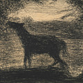 Foal by Georges-Pierre Seurat