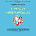 Fofmi Missions Tshirt by Lyn Michelle