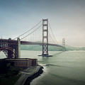 Fog And The Bridge by Justin Carrasquillo