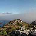 Fog Creeping Over Rocky Point July 2011 by California Views Archives Mr Pat Hathaway Archives