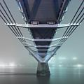 Fog - Millennium Bridge by Rod McLean