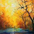 Fog New by Leonid Afremov