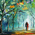 Fog Of Love by Leonid Afremov