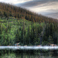Fog On Bear Lake by Jeff Bord