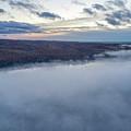 Fog On Goose Lake by Bradley J Nelson