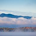 Fog On Moosehead Lake by Susan Cole Kelly