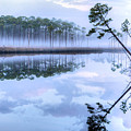 Fog On New River by JC Findley