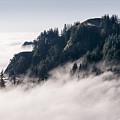 Fog On Saddle Mountain by Robert Potts