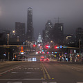 Foggy Austin by Van Sutherland