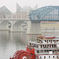 Foggy Chattanooga by Tom and Pat Cory