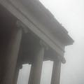 Foggy Coloumn by Jez C Self