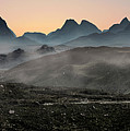 Foggy Dawn On Skye Island by Jaroslaw Blaminsky