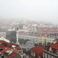 Foggy Day At Lisbon. Portugal by Carlos Perez Muley