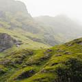 Foggy Highlands Morning by Christi Kraft
