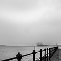 Foggy Mersey by Spikey Mouse Photography