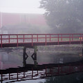 Foggy Morning At The Bridge by Robin Zygelman