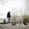Foggy Morning On The Beach... by Aleksandrs Drozdovs