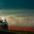 Foggy Morning Sunrise by Dave Bosse