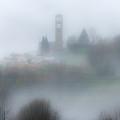 Foggy Mountain Village by Wolfgang Stocker