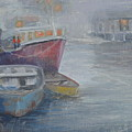 Foggy Peggy's Cove by Judy Fischer Walton