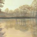 Foggy Reflections by Johanna Lerwick