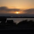 Foggy Sunset by Linda Kerkau