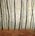 Foggy Trees by Marcia Crispino