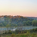 Foggy Valley Panorama by Bonfire Photography