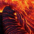 Folding Lava by Christopher Johnson
