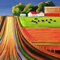 Folk Art Farm by Toni Grote