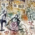Folk-dancing by Milen Litchkov