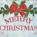 Folk Merry Christmas by Debbie DeWitt
