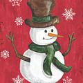 Folk Snowman by Debbie DeWitt