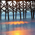 Folly Beach Abstract by Nancy Dunivin