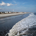 Folly Beach Charleston Sc by Susanne Van Hulst