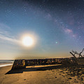 Folly Beach Milky Way by Robert Loe