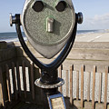 Folly Beach Pay Binoculars by Dustin K Ryan