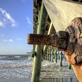 Folly Beach Pier Decay by Dustin K Ryan