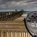 Folly Beach Pier by Reid Northrup