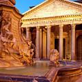 Fontana Del Pantheon by Brian Jannsen