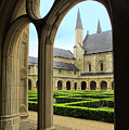 Fontevraud Abbey by Dave Mills