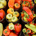 Food - Peppers by Paul Ward