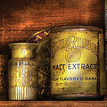 Food - Blue Ribbon Malt Extract by Mike Savad