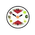 Food Clock by Kathleen Sartoris